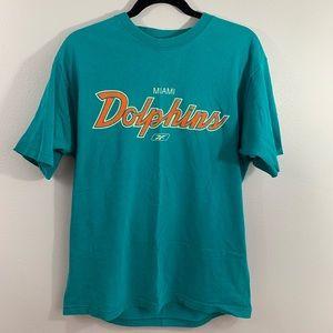 Miami dolphins vintage Reebok tee